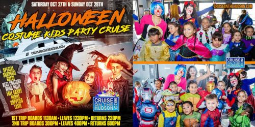 THE KIDS HALLOWEEN CRUISE PARTY